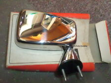 72# Aussenspiegel Ford Fiesta MK1 76-83 verchromt rechts NEU / NOS HAPPICH