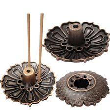 9 Holes Lotus Shape Incense Burner Holder Statue Censer Plate For Sticks & Cone