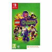 Lego DC Super-Villains (Code in Box) Nintendo Switch Game