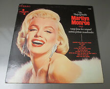 1970 The Unforgettable Marilyn Monroe LP Italy Movietone S 72016 Comp EX/VG+