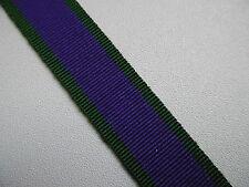"MYB198 Miniature General Service Medal 1962-2007 Ribbon 20cm (8"") long"