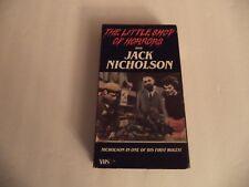 HORROR/SCI-FI ~ THE LITTLE SHOP OF HORRORS ~ VHS Videotape RARE ~ JACK NICHOLSON