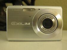 Casio EXILIM ZOOM EX-Z60 6.0MP Digital Camera - Silver