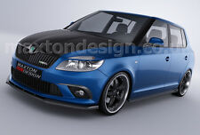 FRONT SPLITTER (TEXTURED) FOR SKODA FABIA 2 RS (2007-UP)