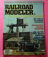 RAILROAD MODELER MAGAZINE MARCH/1979...2-6-2 STEAM LOCOMOTIVE CONVERSION