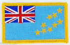 PATCH ECUSSON BRODE DRAPEAU TUVALU INSIGNE THERMOCOLLANT NEUF FLAG PATCHE