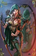 Grimm Fairy Tales  Robyn Hood Wanted #2 LTD 250 CS Moore Exclusive COA