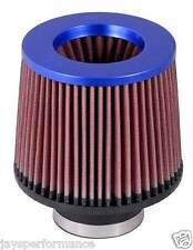 "KN UNIVERSAL AIR FILTER (RR-3002) 3""FLG, 6""B, 5-1/4""T, 5""H; BLUE TOP"