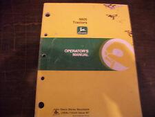 John Deere 6605 Tractor Operators Manual Omal116328