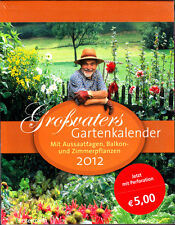 Großvaters Gartenkalender 2012 - Aussaatkalender RAR