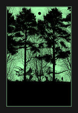DAN MCCARTHY - What Once Was 2 SIGNED art screen print 2010 glows in the dark