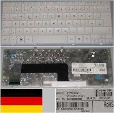 Clavier Qwertz Allemand HP MINI 110 Mini110 V100226EK1 537753-041 Blanc