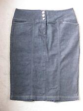 Women's Wallis Indigo Stretch Denim Pencil Skirt Size 14, VGC