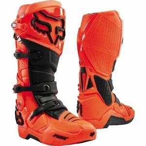 Flo Orange/Black Sz 9 Fox Racing Instinct Boots