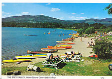 Scotland Postcard - The Spey Valley - Water Sports Centre - At Loch Insh   Z600