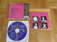 SHARK TABOO Rock Sex God OOP 1993 EUROPEAN CD album