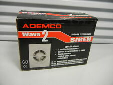 ADEMCO Wave 2 Siren 106db Indoor Electronic NEW
