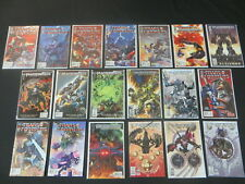 TRANSFORMERS BEST OF UK TIME WARS #1-4 CITY OF FEAR #1-5 + MORE 19 ISS COMIC LOT