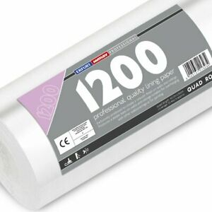 Erfurt Mav 1200 Quad Lining Paper Professional Hide Defects Wall 40M Roll (3234)