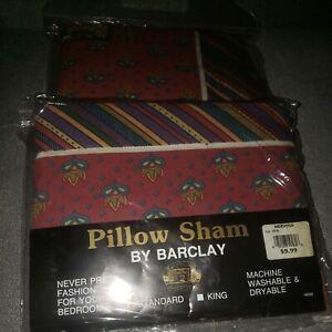 Barclay Pillow Sham Covers Mervyn's Set of 2