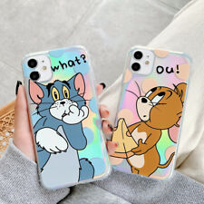 Funny Tom And Jerry Soft TPU Phone Case Cover For iPhone 11 Max 6s XR 8 SE 2020