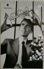 1998 Original APPLE THINK DIFFERENT poster - James Watson -11x17- NEW!