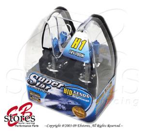 5000K 12V 100w H1 Xenon White HID Foglight Light Bulb