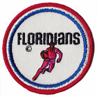 "1970-72 MIAMI FLORIDIANS ABA BASKETBALL 3"" DEFUNCT TEAM PATCH"