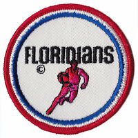 """1970-72 MIAMI FLORIDIANS ABA BASKETBALL 3"""" DEFUNCT TEAM PATCH"""