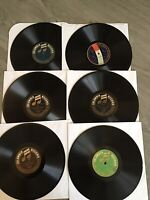 Columbia Graphophone 78rpm Records Lot Of 6 Columbia Records