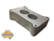 Ford holden valiant speedway 2 barrel holley 350 500 spacer 40mm thick aluminum