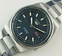 VINTAGE SEIKO 5  7009A 17J AUTOMATIC JAPAN ORIGINAL DIAL MEN'S WRIST WATCH O7819