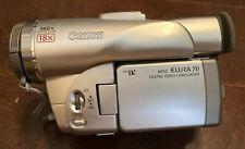 Canon Elura70 MiniDv Camcorder