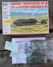 Panzer: Transporter MT-LB mit Haubitze D-44   - 1:87 Bausatz