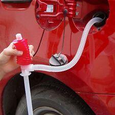 Manual Hand Syphon Oil Water Sink Car Liquid Transfer Siphon Pump