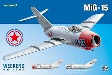 MiG 15 BIS (SOVIET/FAKE KOREAN & CZECHOSLOVAK AF MARKINGS) 1/72 EDUARD