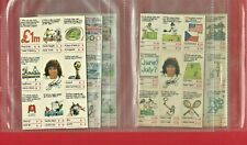 KEVIN KEEGAN QUIZ CARD GAME - NABISCO NESTLE - 1980 CEREAL CARDS (RM18)