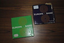 LOT 2 BANDES AUDIO MAGNÉTOPHONE EUROPA BAND LONGPLAY 1200' ET DOUBLEPLAY 1800'
