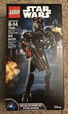 LEGO Star Wars Elite TIE Fighter Pilot Buildable Figure (75526) * NEW * SEALED *
