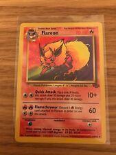 NEAR MINT! Flareon (19/64) Jungle Rare Pokemon Card. Fast P&P!