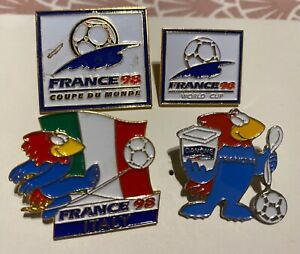 FRANCE 1998 WORLD CUP SOCCER -  4 PINS