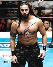 Tama Tonga Signed 8x10 Photo BAS COA New Japan Pro Wrestling Bullet Club NJPW 2