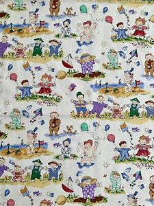 12 Yd Vintage 1997 Alexander Henry \u201cButterfly Garden\u201d  Cotton Fabric