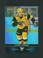 SIDNEY CROSBY tim hortons CARD