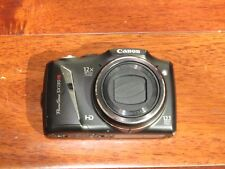 Canon PowerShot SX130 IS 12.1 MP Point and Shoot Camera Black