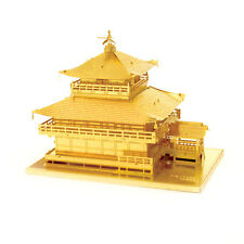 Fascinations Metal Earth 3D Laser Cut Steel Model Kit Japan Gold Kinkaku-ji