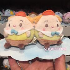 NWT alice in wonderland aiw tweedledum mini Ufufy Plush Shanghai Disney store