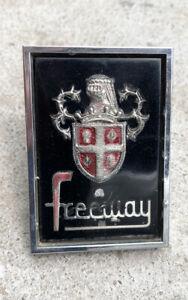 AUSTIN Freeway Mascot Badge Emblem Chrome Frame Shield