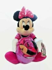 """Disney Minnie Mouse Hugger Set With 40 X 50"""" Throw Blanket And Plush Toy New"""