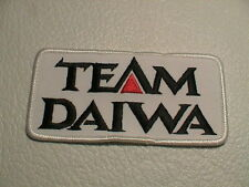 TEAM DAIWA LURES TACKLE BOX REEL ROD OCEAN LAKE FISH FISHING PATCH BRAND NEW